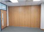 Moving Designs Ltd ~ sliding folding partition Gallery Thumbnail