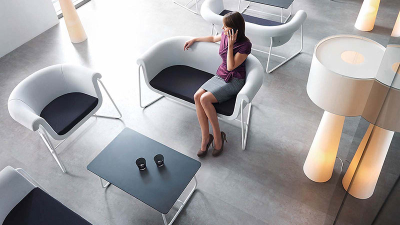 We have a range of social space furniture that is innovative, contemporary design-led products for corporate breakout spaces, open plan offices, reception areas, meeting rooms and dining areas. Gallery Image