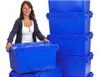Moving home, office building, floor or relocating staff and don't know what to do with the files and documents and personal belongings. Then hire our office moving crates. Gallery Thumbnail