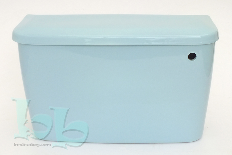 Sky Blue cistern available bottom or side inlet for close-coupled or low-level installation Gallery Image
