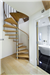 Bespoke Spiral Stair, with Beech treads and vertical balustrade  Gallery Thumbnail