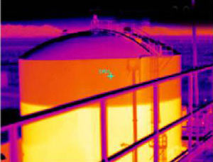 Thermal Image Of A Inspection Tank. Can You Notice Any Issues? Gallery Image