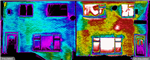 Poor cavity fill in a semi-detached house. Using our advanced thermal imaging systems we can locate any issues. Call Geo Therm Ltd today on 01501 723241 and see the results for yourself. Gallery Thumbnail