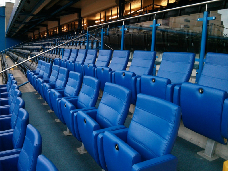 Sports seating for all areas of stadiums Gallery Image