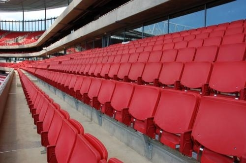 Arsenal general admission sports seating Gallery Image