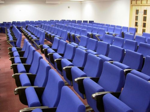 Lecture theatre seating with optional writing tablets Gallery Image