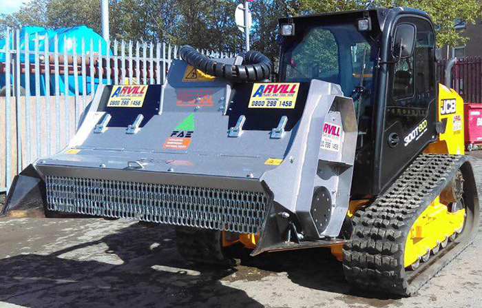 Skid Steer c/w Stone Crusher Gallery Image