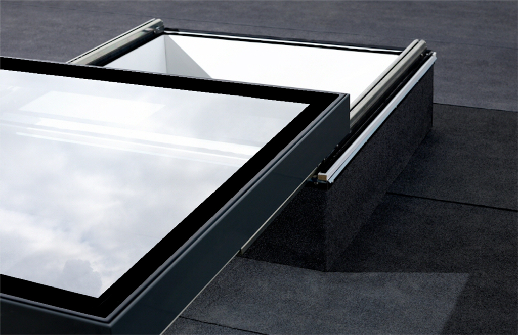 Sliding rooflight in glass Solarglaze skylights  Gallery Image