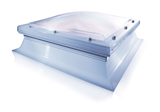 Modular polycarbonate rooflight Mardome with PVC kerb  Gallery Image