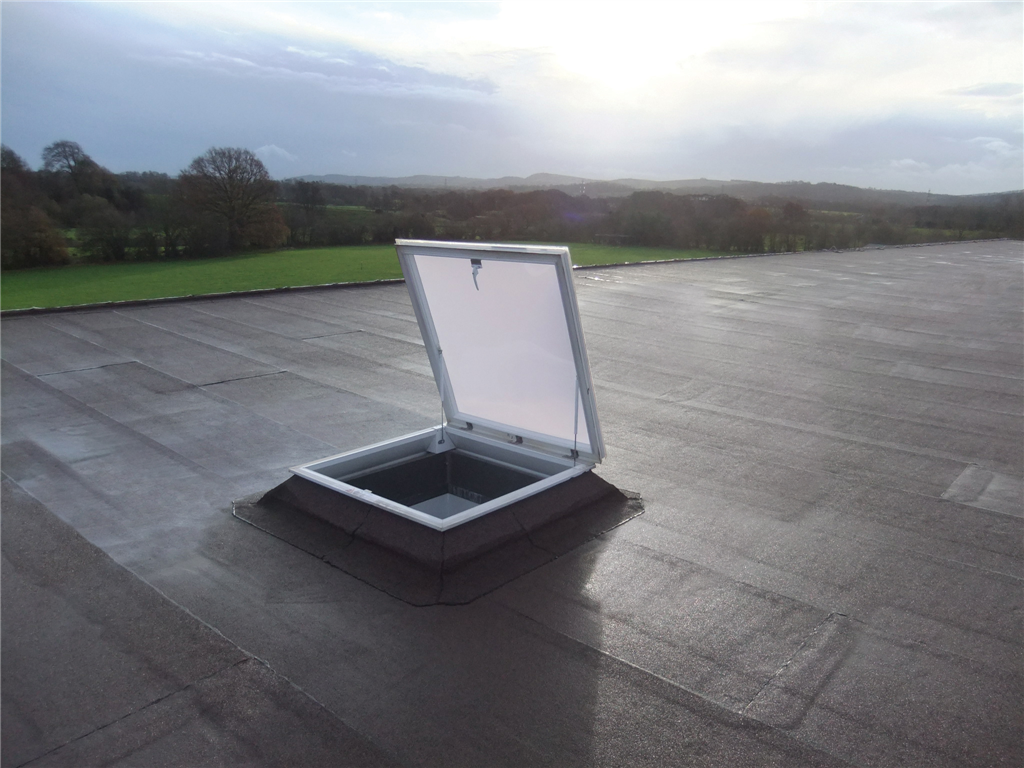 Access hatch rooflight for roof maintenance Gallery Image