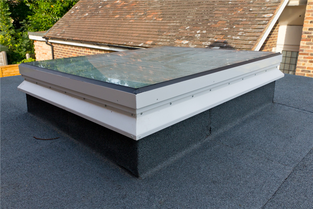 Fixed flat glass rooflight with PVC upstand Starglaze skylight Gallery Image