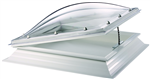 polycarbonate rooflight with electric hinge mechanism Thermadome Gallery Thumbnail