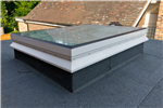 Fixed flat glass rooflight with PVC upstand Starglaze skylight Gallery Thumbnail