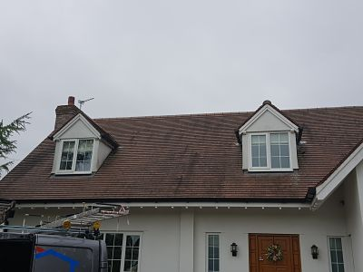 Softwash Roof Cleaning BEFORE Gallery Image