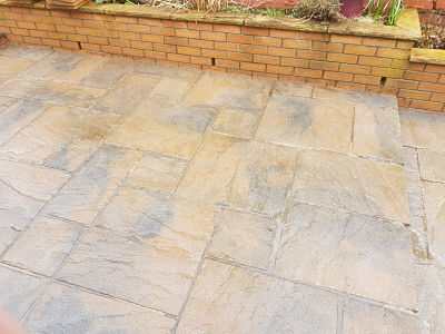 Softwash Patio Clean AFTER Gallery Image