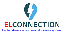 ELCONNECTION Electrical Services and Central Vacuum Systems Logo