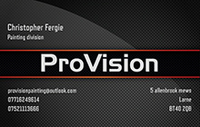 Provision Painting & Decorating Logo
