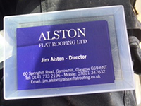 Alston Flat Roofing Ltd