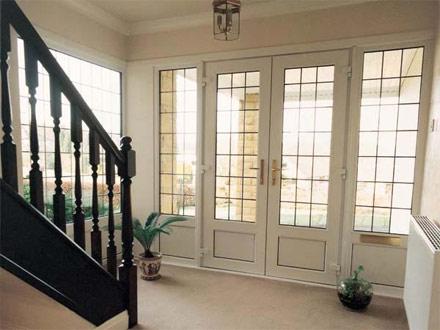 B w doors windows dundee upvc doors aberdeen for Upvc french doors scotland