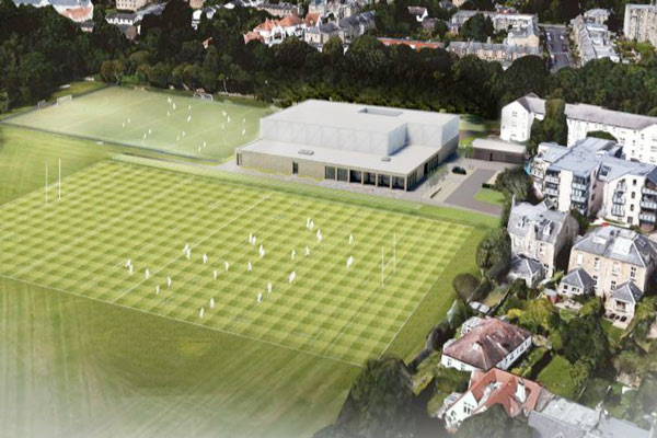 The Building Will Be Located Next To Trinity Academy