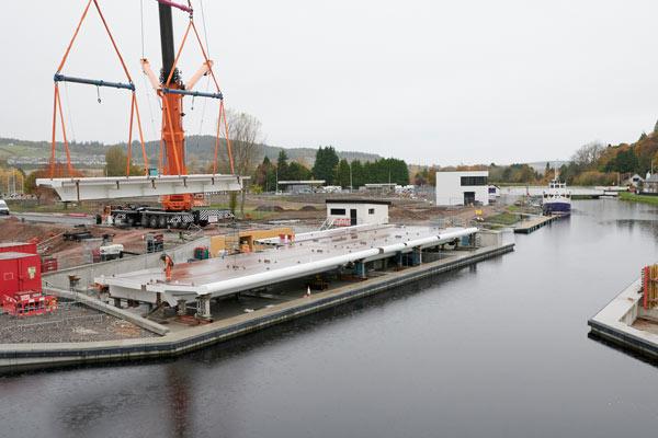 Construction Work Has Started On The New Torvean Bridge