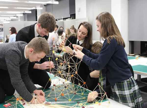 Pupils Visited RGU's Scott Sutherland School of Architecture and Built Environment