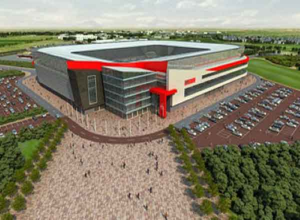 Football Manager  Build New Stadium