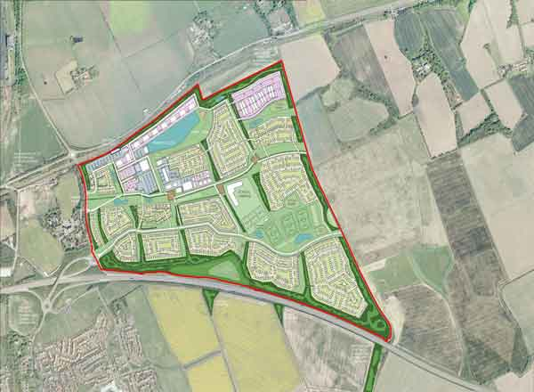 Part Of Proposals To Create A New Town At Blindwells