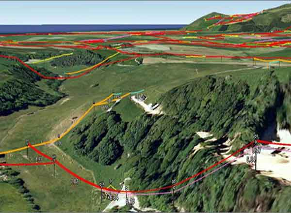 3D Scanning Used To Map Out 44,000km Power Line Network