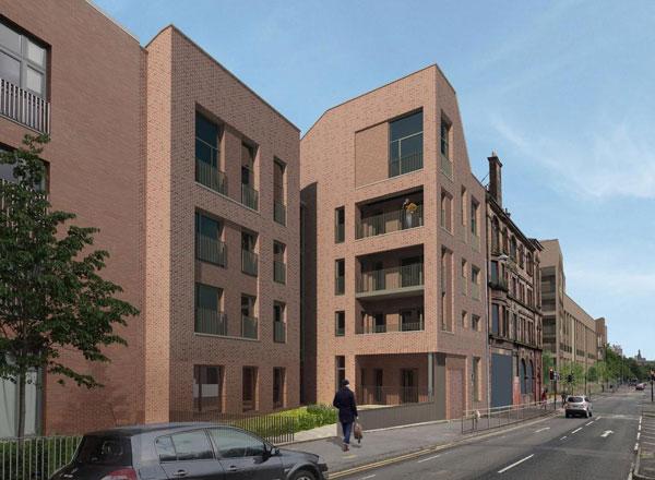 Part Of The £100m Laurieston Living Development