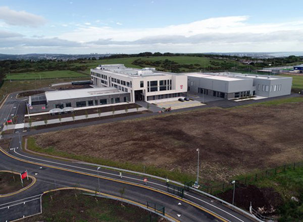 Construction Works Completed At Aberdeen School