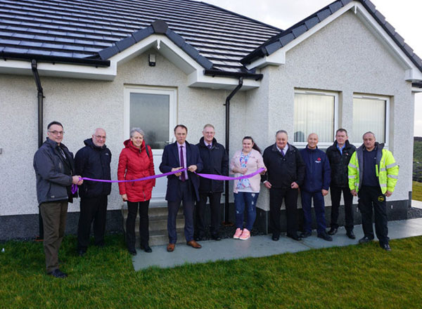 New Development Officially Opened By MSP Alasdair Allan