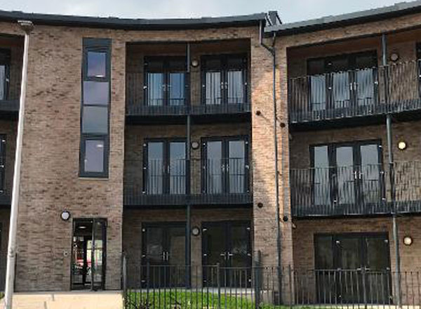 First Housing Scheme Finished In West End Regeneration