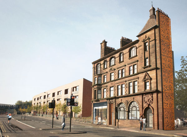 Grade A Listed Building One Of Last Remaining Tenement Buildings